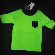 The Children's Place Baby Boys Size 18-24M Short Sleeve Rashguard Swim Shirt