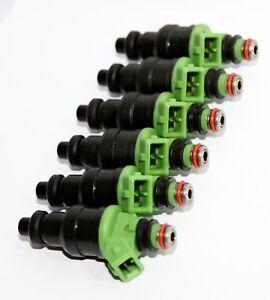 6 Pieces Fuel Injectors for Mitsubishi 91-96 3000GT 92-93 Diamante V6 3.0L