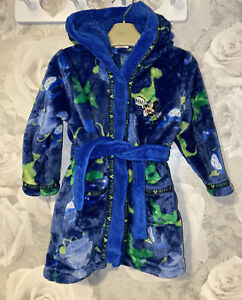 Boys Age 12-18 Months - Matalan Dressing Gown - Mickey Mouse