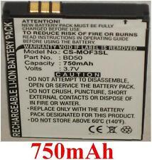 Batterie Pour MOTOROLA F3, F3C, EM325, EM25, BD50, SNN5796A, SNN5796 **750mAh**