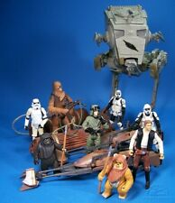 "Star Wars Hasbro Battle Pack ""The Battle of Endor"" AT-ST Walker + 8 Figuren"