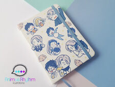Yuri On Ice!!! Travel Notebook Journal Sketchbook Victor Yuuri Makkachin Anime