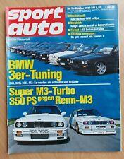 Sport Auto 10/1989 - BMW 3er Tuning - Honda CRX - Porsche 928 GT- M3
