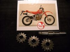 Honda XR600R 85 to 90 Maximum Spline contact 13 Front Sprocket