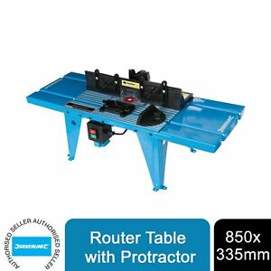 Silverline 460793 DIY Router Table with Protractor 850 x 335mm UK