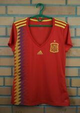 Spain soccer women jersey medium 2019 home shirt BR2716 football Adidas