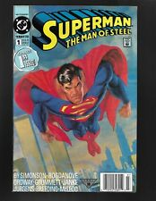 Superman Man of Steel #1 DC Comics 1991 NM