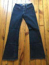 Paige Dark Wash Bootcut Jeans HH Boot Sz 27 Inseam 31