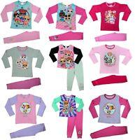LOL Surprise Dolls Girls Pyjama Set Pj's Nightwear Ages 4 to 10 years