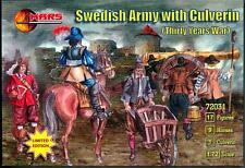 Mars Figures 1/72 SWEDISH ARMY WITH CULVERIN Thirty Years War Figure Set