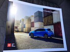2019 TOYOTA COROLLA HATCHBACK 24-page Original Sales Brochure