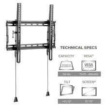 Tilting TV Wall Mount for (30 32 36 40 42 46 50 55)inch LED LCD Plasma 4K HDTV