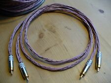 "Genuine Western Electric 22AWG 1M RCA Interconnects ""realsounding"" Cables"
