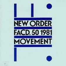 """NEW ORDER """"MOVEMENT"""" LP VINYL NEU"""