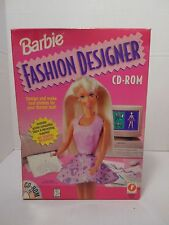 Barbie Fashion Designer CD-ROM PC, Vintage 1996- NO GAME PLEASE READ
