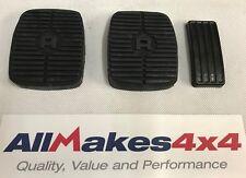 Allmakes 4x4 Land Rover Discovery 1&2 Pedal Almohadilla Gomas Set X 3