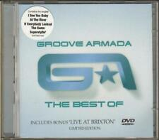 GROOVE ARMADA The Best Of  CD 14 Track Album With Bonus 25 Track Dvd Disc, 82876
