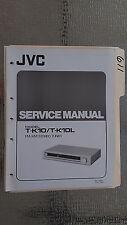 JVC t-k10 l service manual original repair book stereo am fm tuner radio