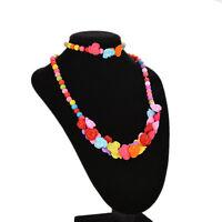 1 Set Kids Jewelry Necklace Bracelet Girls Party Decor Dress Accessories mjy