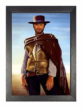 Clint Eastwood 17A Handsome American Actor Movie Star Poster Old School Photo
