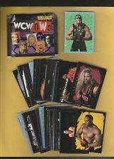 1999 Panini WCW Wrestling Complete Mint Sticker Set(120) Minus 2 Stickers