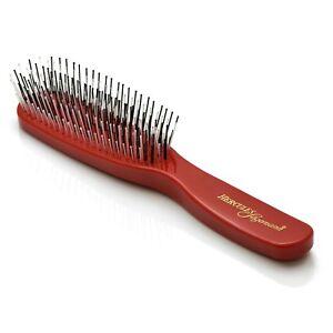 Hercules Sägemann Scalp Detangling Brush 8207 Red Birthday Gifts for Women Girl