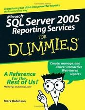 Microsoft SQL Server 2005 Reporting Services For Dummies (For Dummies-ExLibrary
