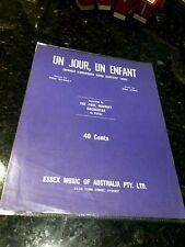 Un Jour,Un Enfant-Winner Eurovision Song Contest 1969-Paul Mauriat Orc-Essex Aus