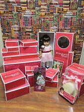 American Girl Samantha Whole World Collection Ice-Cream Parlor Gazebo ALL NIB