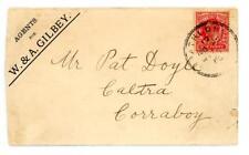1908? GB Ireland Advertising cover with Athlone skeleton postmark