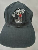 Vintage Disney's Mickey Mouse Golfing Cap AHead Classic Cut-Adult One Size