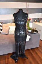 Escada Couture vestido de seda talla 36 NP. 2.790 € - negro * como nuevo *
