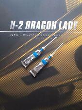 Damtoys u2 PILOTA Dragon Lady Cibo TUBI X 2 Loose SCALA 1/6th