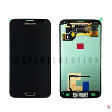 Samsung Galaxy S5 Blue LCD Digitizer Touch Screen Assembly + Home Button G900