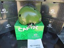 New In Box Nib Capix Opener Helmet Adult Xl Army Green #12