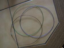 3  bunte Spiralhalsreife / 45 cm /   neu