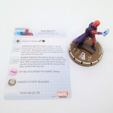 Heroclix Guardians of the Galaxy set Magneto (Zombie) #067 Chase figure w/card!