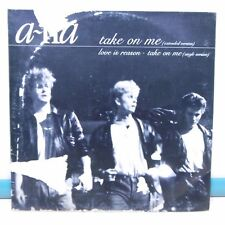 MAXI 45T RPM A-HA Vinyle TAKE ON ME - LOVE IS REASON - WB 920336-0 Frais Rèduit