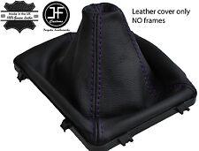 PURPLE STITCH LEATHER MANUAL GEAR BOOT 5 & 6 SPEED FITS HOLDEN VY VZ COMMODORE