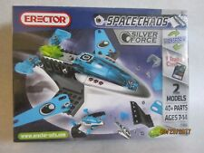 Space Chaos Silver Force 3100A by Erector - Inc. 2 Models - New!