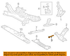 TOYOTA OEM Front Suspension-Lower Control Arm Mount Bolt 9010516090