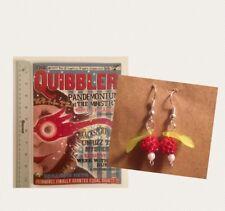 Quibbler&Radish Earrings HARRY POTTER Inspired Cover For Luna Lovegood Fan Prop