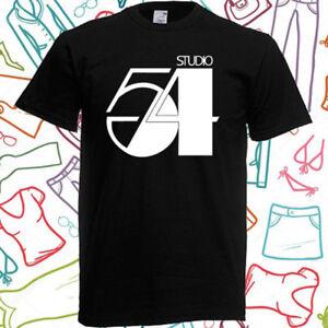 Studio 54 Disco Paradise Garage Men's Black T-Shirt Size S to 3XL
