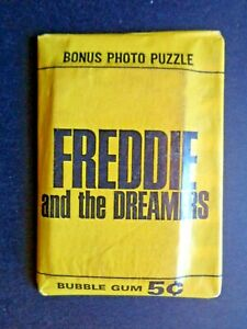 1965 DONRUSS *FREDDIE AND THE DREAMERS* SEALED WAX PACK  HTF