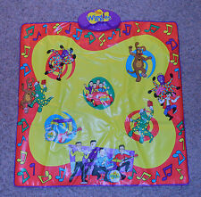 "2003 Singing Musical 32"" Dance Mat Spin Master The Wiggles"