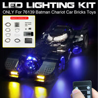 Remote Control LED Lights Lighting Kit For LEGO 76139 Chariot Car Bricks Toys