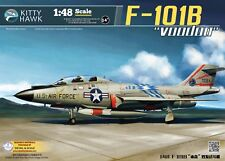Kitty Hawk 1/48 KH80114 US F-101B Voodoo Fighter Model Kit