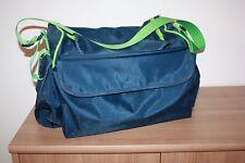Tupperware TupperCare Babysitter K10 Wickeltasche blau grün Wickelunterlage Box
