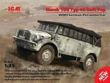 ICM 1/35 Horch 108 Typ 40 con/Tapa Suave II GUERRA MUNDIAL Alemán Personal Coche