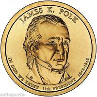 1 DOLLAR USA ÉTATS UNI 2009 JAMES K. POLK DENVER (11D) DOLLAR 1845-1849